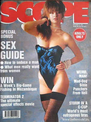 Mens sex magazines, Scope, South African back issues, edition: October 1991