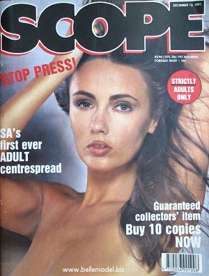 Mens sex magazines, Scope, South African back issues, edition: 13 December 1991