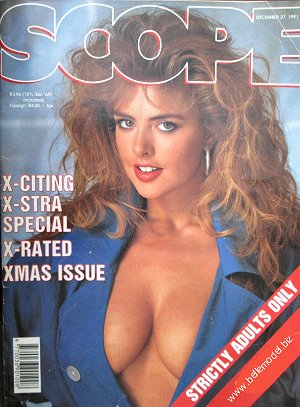 Mens sex magazines, Scope, South African back issues, edition: 27 December 1991