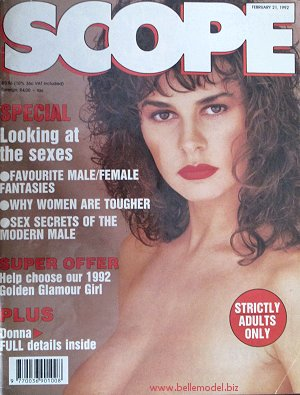 Mens sex magazines, Scope, South African back issues, edition: 21 February 1992