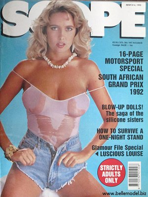Mens sex magazines, Scope, South African back issues, edition: 6 June 1992