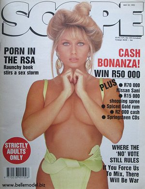 Mens sex magazines, Scope, South African back issues, edition: 29 May 1992