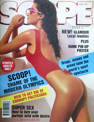 Mens sex magazines, Scope, South African back issues, edition: 7 August 1992