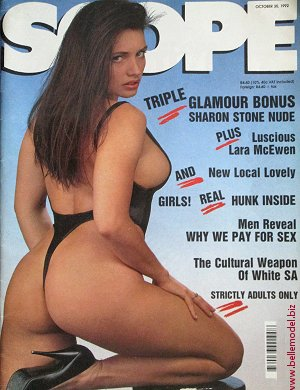 Mens sex magazines, Scope, South African back issues, edition: 30 October 1992