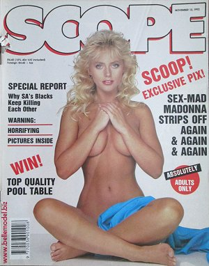 Mens sex magazines, Scope, South African back issues, edition: 13 November 1992