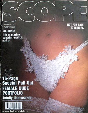 Mens sex magazines, Scope, South African back issues, edition: 17 September 1993