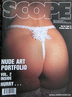 Mens sex magazines, Scope, South African back issues, edition: 12 November 1993