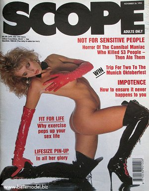 Mens sex magazines, Scope, South African back issues, edition: 26 November 1993