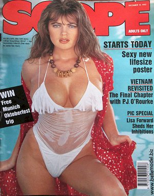 Mens sex magazines, Scope, South African back issues, edition: 10 December 1993