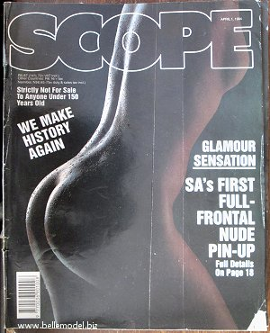 Mens sex magazines, Scope, South African back issues, edition: 1 April 1994