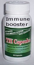 Herbal medicine to boost immune system against diseases caused by infections. South Africa, Pretoria