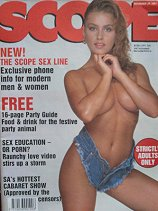 Mens sex magazines, Scope, South African editions, 1987 till 1995